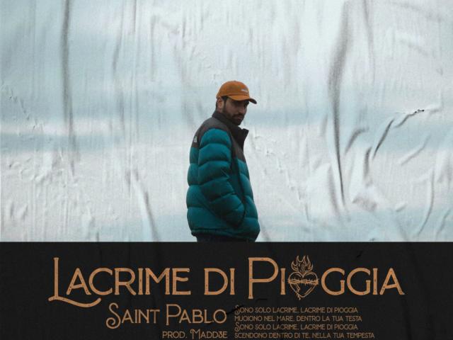 Pierpaolo Pingitore alias Saint Pablo con Lacrime di Pioggia