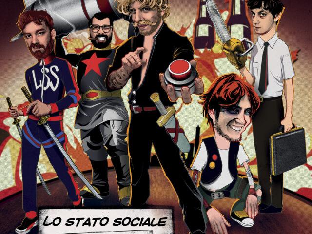 Lo Stato Sociale: in vinile Attentato alla Musica Italiana