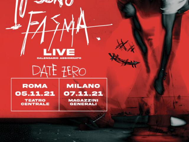 Vivo Concerti posticipa a Novembre i live di Fasma
