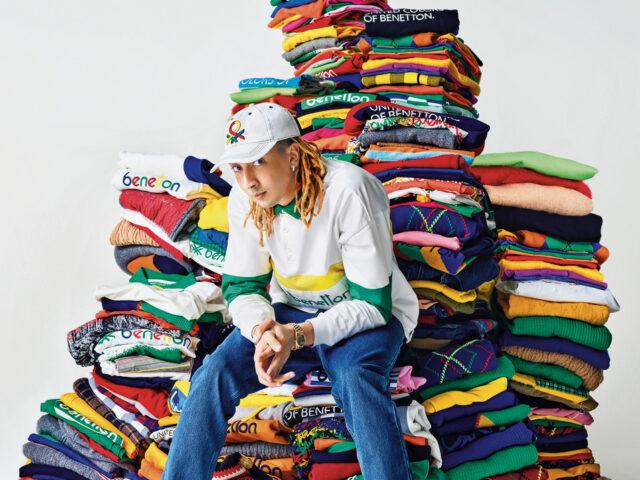 Ghali Brand Ambassador di United Colors of Benetton