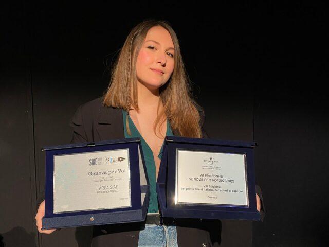 Giulia Mei vince Genova per Voi 2020 / 2021