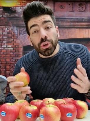 La mela Kanzi® aiuta i professionisti dello spettacolo