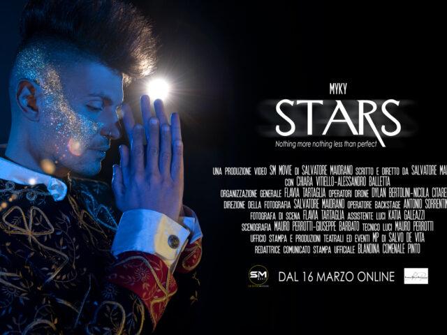 Martedì 16 Marzo arriva Stars, il nuovo brano inedito di Myky