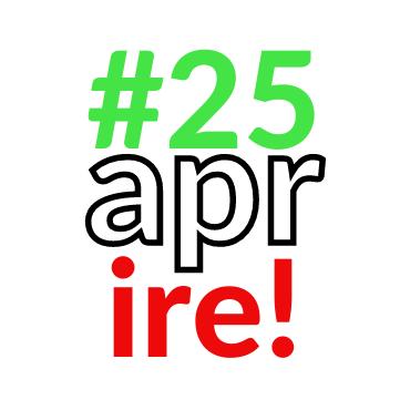 25 Aprire! Flashmob dei lavoratori dello spettacolo davanti a Monte Citorio il 25 aprile