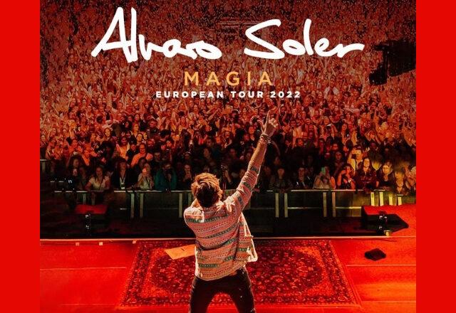 Alvaro Soler in concerto il 7 Marzo 2022 a Padova ed il giorno dopo a Milano