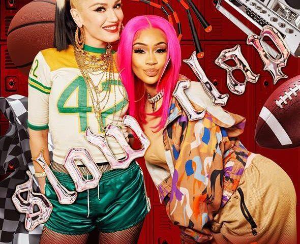 Gwen Stefani pubblica una nuova versione di Slow Clap, con la rapper Saweetie