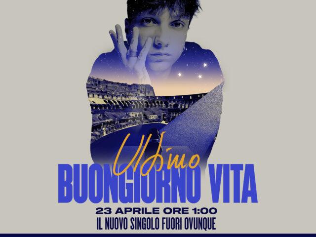 Ultimo torna live: il 22 Aprile in streaming dal Colosseo, sempre pensando ad Unicef