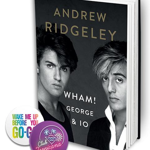 Finalmente anche in italiano il libro di Andrew Ridgeley sull'epopea Wham