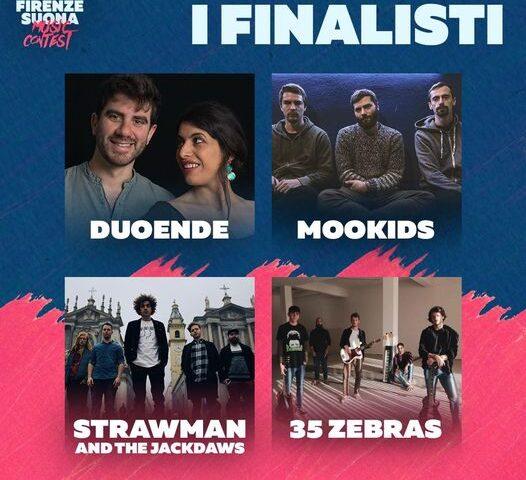 Rivelati i 4 finalisti del Firenze Suona Music Contest