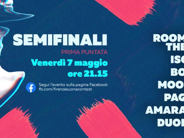 Rullo di tamburo per Firenze Suona Music Contest: Venerdì 7 Maggio la prima semifinale