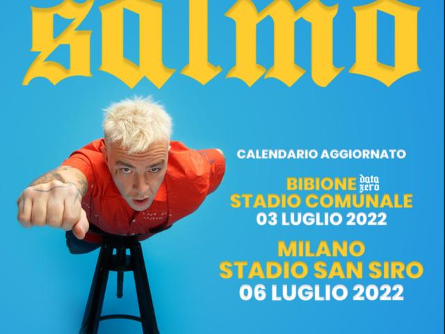 A Luglio 2022 i due mega show di Salmo