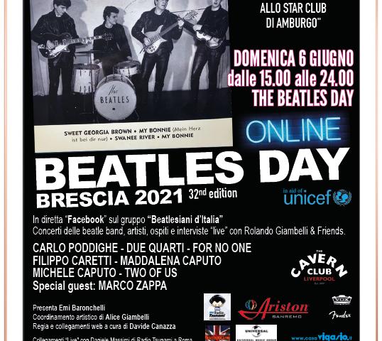 Domenica 6 Giugno il Beatles Day da Brescia, ancora on line