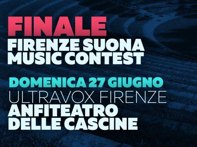 La finale del Firenze Suona Music Contest – Domenica 27 Giugno all'Anfiteatro de Le Cascine