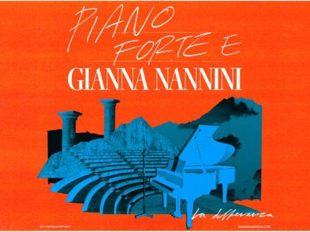 Nuove date per il tour Piano Forte E Gianna Nannini – La Differenza