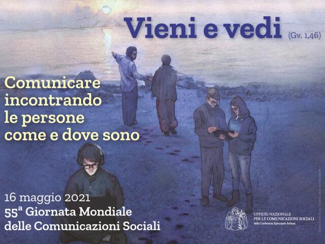 La 55ª Giornata Mondiale delle Comunicazioni Sociali: il manifesto realizzato dalla Scuola di Arte Sacra di Firenze