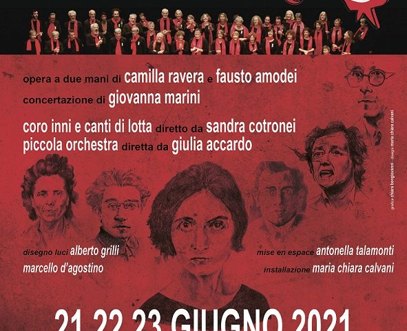 Il Partito, una cantata politica al Teatro Vascello di Roma dal 21 al 23 giugno con Giovanna Marini