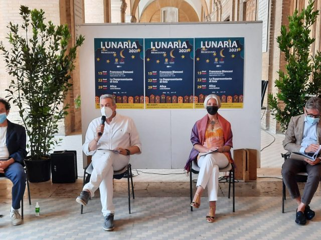 Tre date a Recanati nel mese di Luglio per il festival Lunaria