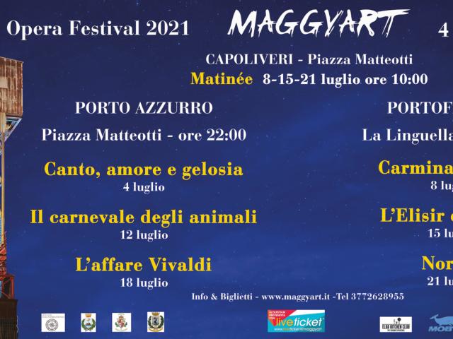 Magnetic Opera Festival tra reading, opere dal 4 al 21 Luglio in vari luoghi dell'Isola d'Elba