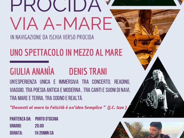 Giulia Ananìa e Denis Trani il 23 e 24 Giugno in un concerto a favore di Procida