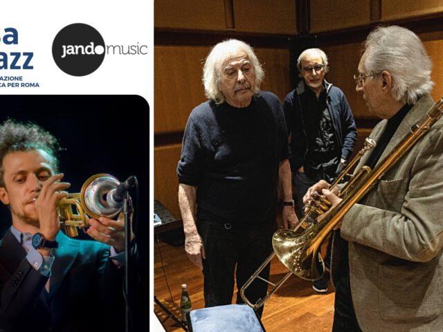 Si può fare alla Casa del Jazz di Roma dal 7 giugno con Enrico Rava, Dino e Franco Piana