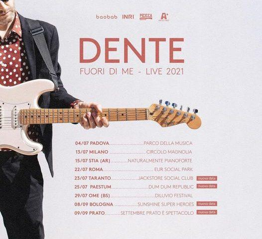 Nove concerti estivi per Dente