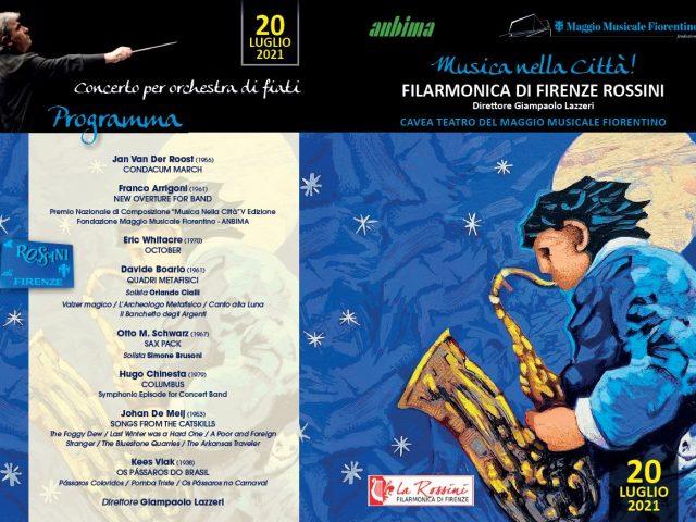 Uno sguardo al cielo stellato: il 20 Luglio in concerto a Firenze la Filarmonica Rossini ..