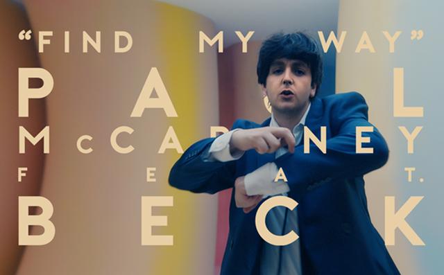 Find My Way (feat. Beck), la novità di Paul McCartney
