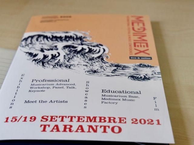 Medimex 2021: a Taranto dal 15 al 19 settembre