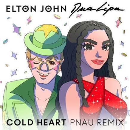 Cold Heart, il nuovo singolo di Elton John con Dua Lipa