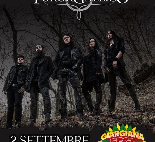 Il folk metal dei Furor Gallico al Giargiana Fest a Seregno il 2 Settembre