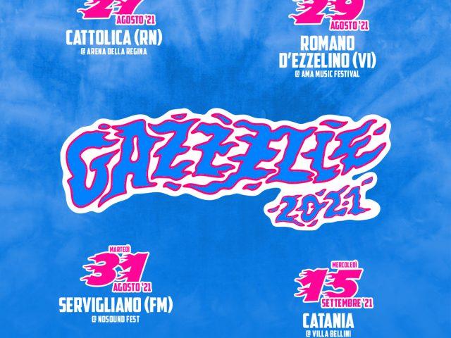Gazzelle ed i suoi quattro concerti estivi tra Agosto e Settembre