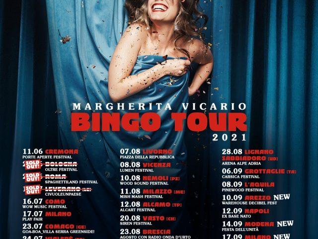 Altri concerti estivi per Margherita Vicario per il Bingo Tour