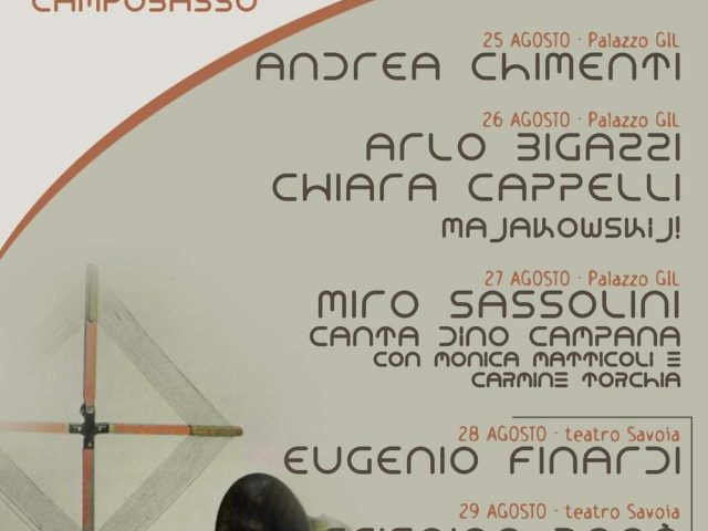 Sonika Poietika: dal 25 al 29 Agosto la IV Edizione a Campobasso