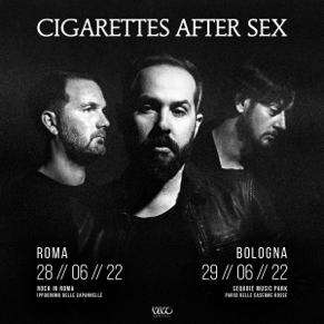 Cigarettes After Sex: a Giugno 2022 il recupero dei concerti di Bologna e Roma