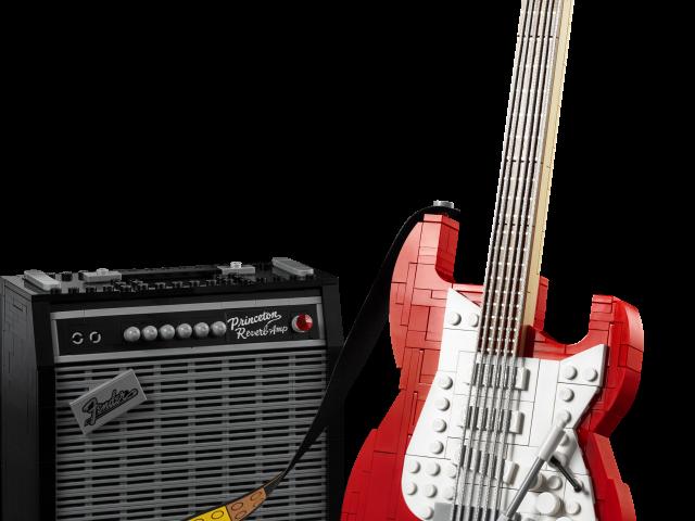 LEGO® annuncia Ideas Fender® Stratocaster™