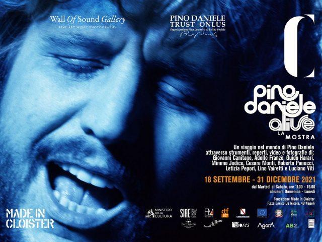 Pino Daniele Alive, La Mostra: progetto espositivo multimediale a Napoli sino al 31 Dicembre