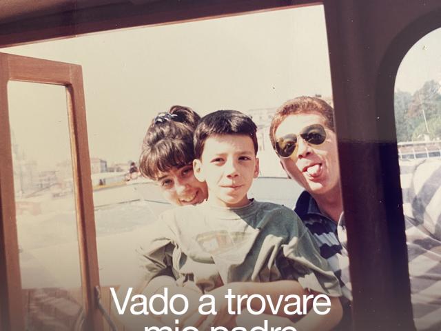 Maurizio Carucci presenta il podcast Vado a trovare mio padre