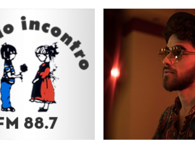 Il giovane Erik (prodotto da Franco Eco) ospite a Radio Incontro di Terni