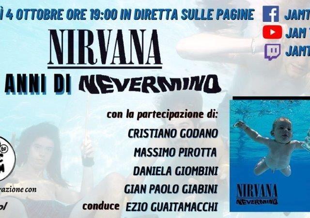Seconda edizione di Jam Tv – Music Room: stasera si parte con i Nirvana