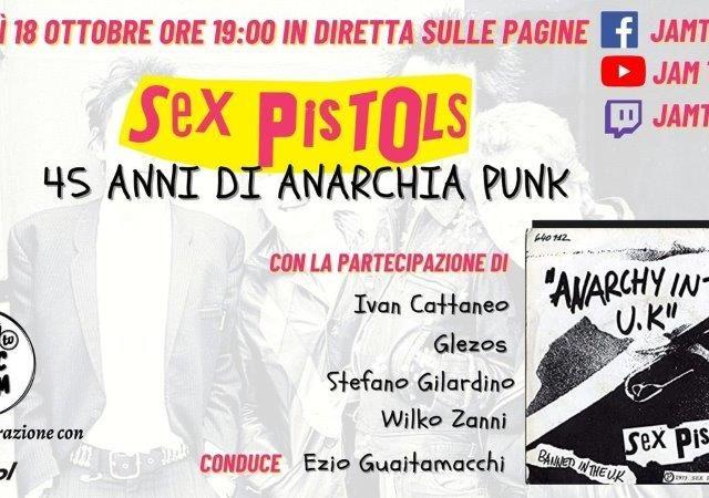 Dopo aver celebrato Nirvana e Mark Knopfler (con o senza i Dire Straits), Jam Tv guarda ai Sex Pistols
