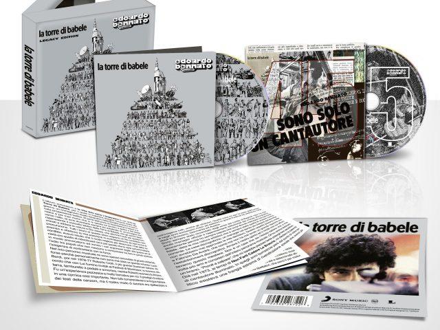 Edoardo Bennato: nuova edizione per La torre di Babele