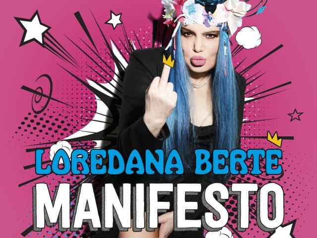 Loredana Berté annuncia Manifesto, nuovo album per Venerdì 5 Novembre