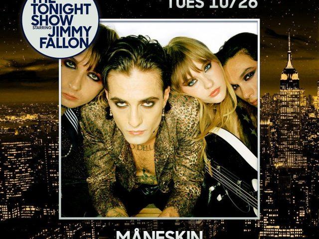 Måneskin in concerto Mercoledì 27 Ottobre a New York e Lunedì 1 Novembre a Los Angeles