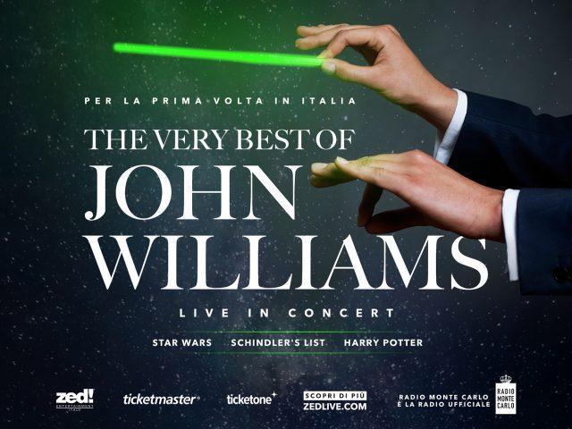 Il repertorio del genio John Williams dal vivo con un'orchestra di 70 elementi.